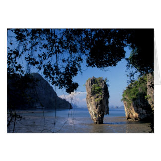 Asia, Thailand, Ao Phangnga NP, coatline, Karst Card