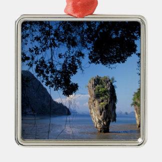 Asia, Thailand, Ao Phangnga NP, coatline, Karst Christmas Ornament