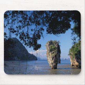 Asia, Thailand, Ao Phangnga NP, coatline, Karst Mouse Pad