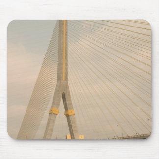 Asia, Thailand, Bangkok, bridge over Chao Mouse Mat