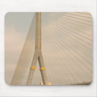 Asia, Thailand, Bangkok, bridge over Chao Mouse Pad