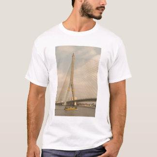 Asia, Thailand, Bangkok, bridge over Chao T-Shirt
