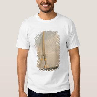 Asia, Thailand, Bangkok, bridge over Chao T-shirts