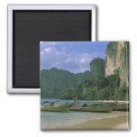Asia, Thailand, Krabi. West Railay Beach,
