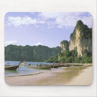 Asia, Thailand, Krabi. West Railay Beach, long Mouse Mat