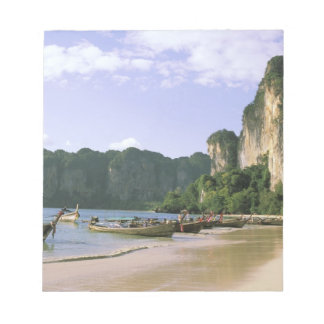 Asia, Thailand, Krabi. West Railay Beach, long Notepad