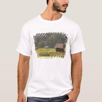 Asia, Thailand, Mae Hong Son, Rice huts in the T-Shirt