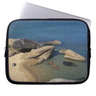 Asia, Thailand, Samui. Beach Laptop Sleeve