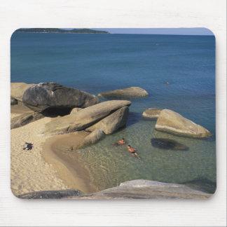 Asia, Thailand, Samui. Beach Mouse Mat