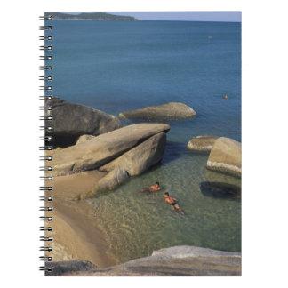 Asia, Thailand, Samui. Beach Notebook