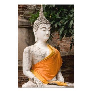 Asia, Thailand, Siam, Buddha at Ayutthaya 2 Photo Print