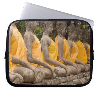 Asia, Thailand, Siam, Buddhas at Ayutthaya Laptop Computer Sleeves