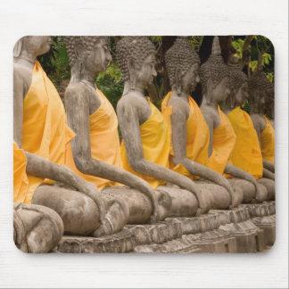 Asia, Thailand, Siam, Buddhas at Ayutthaya Mouse Pad