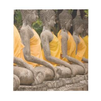 Asia, Thailand, Siam, Buddhas at Ayutthaya Notepad