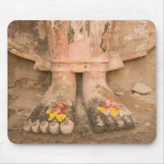 Asia Thailand, Sukhothai, Buddha's feet and Mouse Mat