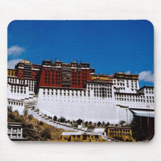 Asia, Tibet, Lhasa, Potala Palace aka Red 2 Mouse Pad