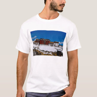 Asia, Tibet, Lhasa, Potala Palace aka Red 2 T-Shirt