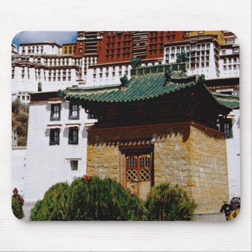 Asia, Tibet, Lhasa, Potala Palace aka Red Mousepads