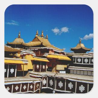 Asia, Tibet, Lhasa, Potala Palace aka Red Square Sticker