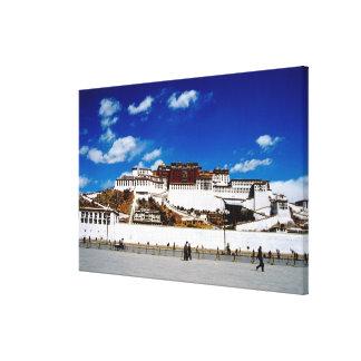 Asia, Tibet, Lhasa, Potala Palace. UNECSO Canvas Print