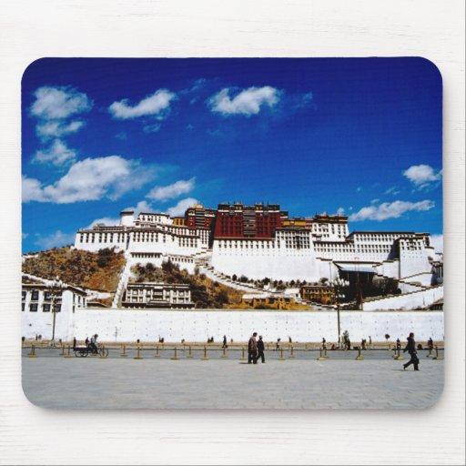 Asia, Tibet, Lhasa, Potala Palace. UNECSO Mousepad