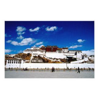 Asia, Tibet, Lhasa, Potala Palace. UNECSO Photographic Print