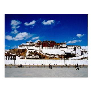 Asia, Tibet, Lhasa, Potala Palace. UNECSO Postcard