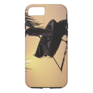Asia, Vietnam, Mekong Delta, Can Tho. Evening iPhone 7 Case