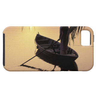 Asia, Vietnam, Mekong Delta, Can Tho. Evening Tough iPhone 5 Case