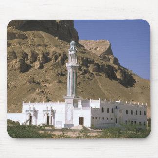 Asia Yemen Tarim White mosque Mouse Pads