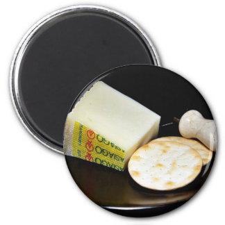Asiago Pressato Cheese 6 Cm Round Magnet