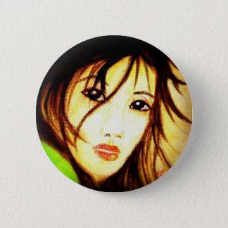 Asian 6 Cm Round Badge