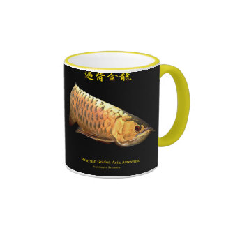 Asian Arowana Ringer Mug