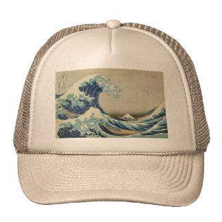 Asian Art - The Great Wave off Kanagawa Cap