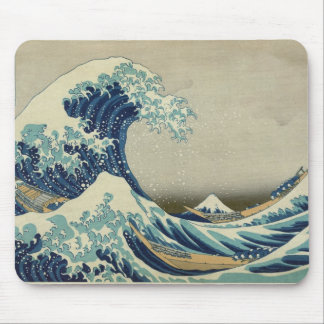 Asian Art - The Great Wave off Kanagawa Mouse Mat