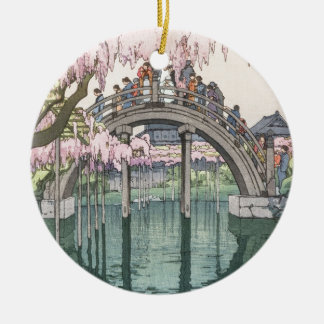 Asian Art Vintage Oriental Classic Masterpiece Christmas Ornament