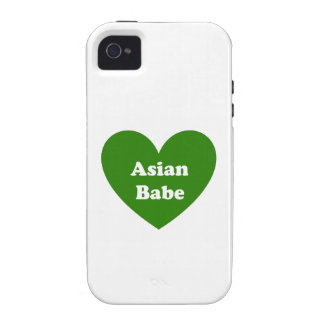 Asian Babe Vibe iPhone 4 Case