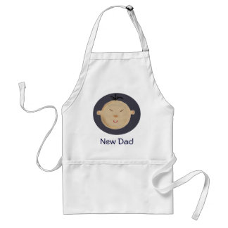 Asian Baby Adult Apron