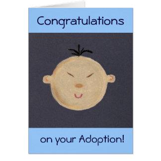 Asian Baby Greeting Card