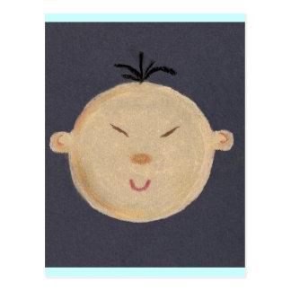 Asian Baby Postcard