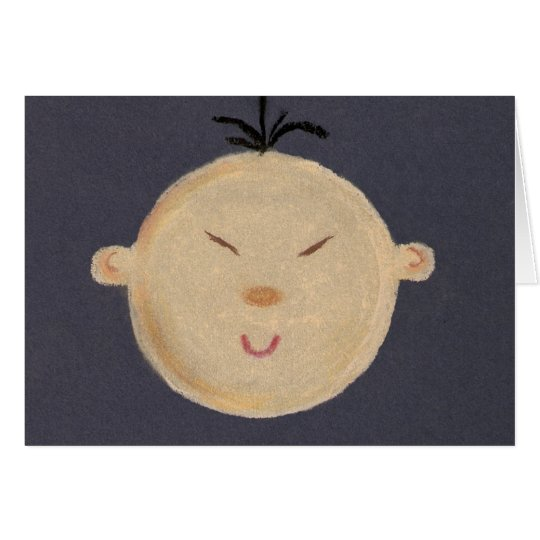 Asian Baby Thank You Card