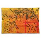 Asian Bamboo Art Placemat