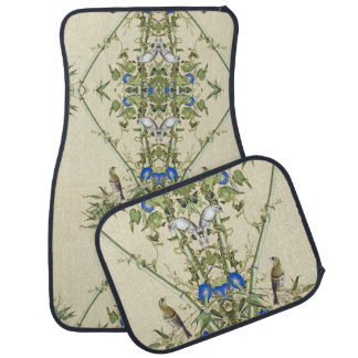 Asian Bamboo Birds Flowers Animal Car Floor Mats