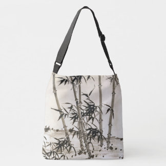 Asian Bamboo Leaves Nature Chinese Tote Bag