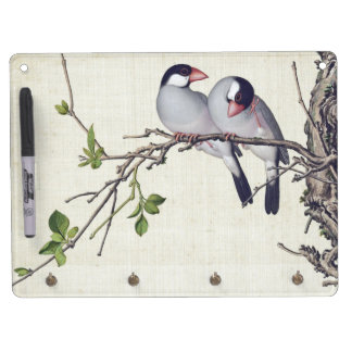 Asian Birds Wildlife Animals Dry Erase Board