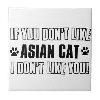asian cat cat designs tile
