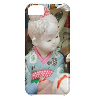 Asian ceramics, ceramic doll iPhone 5C case