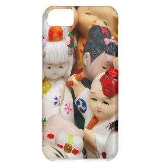 Asian ceramics, porcelain dolls iPhone 5C case