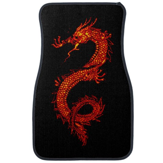 Asian, Chinese,Mythical Dragon, Year of the Dragon Floor