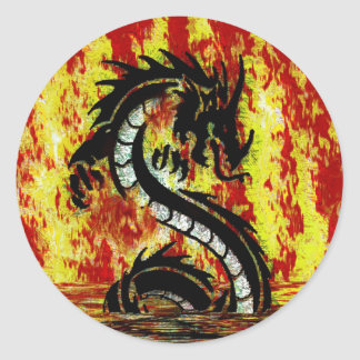 Asian, Chinese,Mythical Dragon, Year of the Dragon Sticker